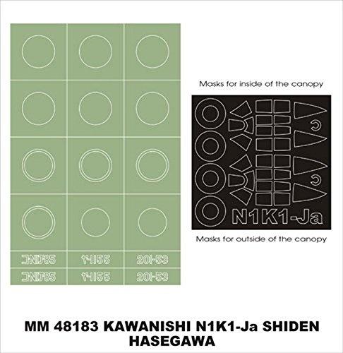 Montex-Maxi-Mask-1-48-N1K1-Ja-Shiden-for-Hasegawa-JT-89-Spencil-MM48183