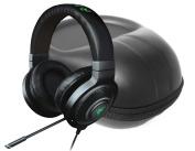 FitSand (TM) Carry Zipper Travel Storage EVA Hard Case Bag Pouch Box Cover for Razer Kraken 7.1 Chroma Sound USB Gaming Headset