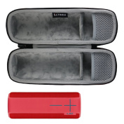 LTGEM EVA Hard Case Travel Carrying Storage Bag for Ultimate Ears UE BOOM 2 Wireless Bluetooth Portable Speaker. Fits USB Cable and Wall Charger