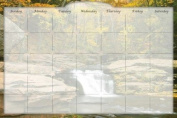 Biggies DC-RRF-36 Dry Erase Stickie Monthly Calendar - River Falls