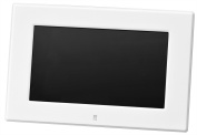 Green House low-power design of the 18cm widescreen LCD digital photo frame high-definition (800 ~ 480Pixel) White GH-DF7X-WH
