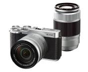 FUJIFILM mirror-less single-lens X-A2 double zoom lens kit Silver X-A2S1650II / 50230II [International Version, No Warranty]