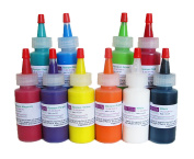 Resin Obsession opaque colour pigments - complete set of ten colours