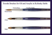 Escoda Kolinsky Brush Series 2410 Round 3×0