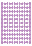 Craftwell USA Craftwell Embossing Folder, Chequered Argyle