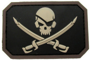 Pirate Skull Flag Morale Patch - PVC