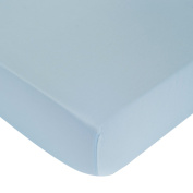 Carter's Crib Fitted Sheet, Mid-Blue