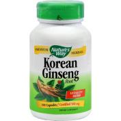 Natures Way Korean Ginseng Root 100 Capsules