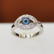 Evil Eye Ring & Cubic Zirconia Evil Eye Ring