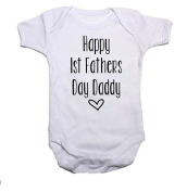 Happy First Fathers Day Baby Grow/Vest Baby Shower Gift