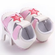 WAYLONGPLUS Infant Cute Prewalker Sneaker Baby Anti-skid Soft Toddler Shoes PU-Leather Big Star