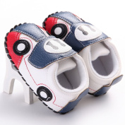 WAYLONGPLUS Infant Prewalker Sneaker Car Type Anti-skid Soft Shoes