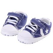 WAYLONGPLUS Prewalker Infant Anti-skid Soft Baby Shoes Toddler Sneaker
