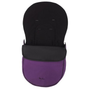 Silver Cross Surf 3D Footmuff in Berry