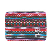 Zarapack Women's Colourful Knitted Clutch Handbag Purse IT Bag