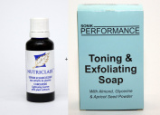 Nutriclair Concentrated Skin Lightening Serum 30ml & SP Toning Exfoliating Soap 200g