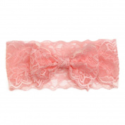 FEITONG New Fashion Girls Lace Big Bow Hair Band Baby Head Wrap Band Accessories