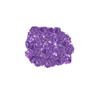 Mytoptrendz® Purple Tone Small Tiny Mini Poly Elastics Hair Tie Ultra Elastic Rubber Bands