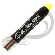 PaintGlow UV Neon Glitter Paint Stick, Sherbet Lemon 3 g
