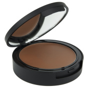 MiMax Make Up Cream to Powder Foundation Number A06, Ebony