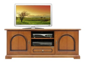 Classic tv stand in wood