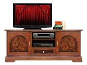 Tv stand cabinet with Walnut briar root