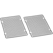 Hosaire 25cm by 41cm Nonstick Cooling Rack Set of 2