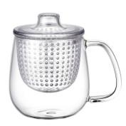 Kinto Unimug Integrated Tea Maker and Cup - Clear, Medium