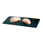 Cooks Professional Quick Thaw Defrost Tray With Non-slip Silicone Corners for Rapid Defrosting Of Frozen Foods.