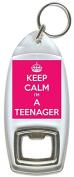 Keep Calm I'm A Teenager - Bottle Opener Keyring