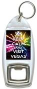 Keep Calm And Visit Vegas - Bottle Opener Keyring