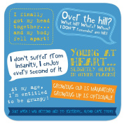 """Coasters - Perfect Gifts For Him & Her """"Over The Hill"""""""