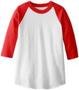 MJ Soffe Kid's 3/4 Sleeve Baseball Jersey