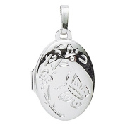 Basic 260121Silver Women's Pendant Medallion 925 Sterling Silver