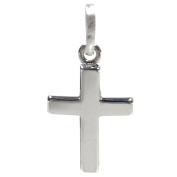 Basic Silver SKE55 Ladies Cross Pendant Sterling Silver