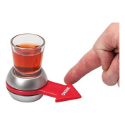 Spin The Shot ! Novelty Drinking Game, Party Game | Shot Glass Drinking Game by DURSHANI