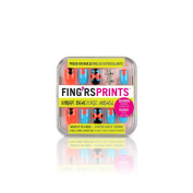Fing'rs Prints Pre Glued Street Beat Nails, Wrap Star