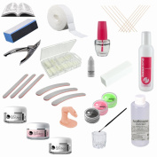 Professional Acrylic Kit incl. Colour Powder - Starter Kit