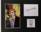 Limited Edition Gene Wilder Signed Display Printed Autograph