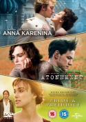 Anna Karenina/Atonement/Pride and Prejudice [Region 2]
