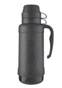 Genuine Thermos Eclipse Glass Vacuum Travel Handle Flask 1.8L Black