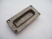 Ironmongery World Cast Iron Flush Recessed Door Drawer Pull Handles In 2 Fini...