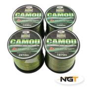 Carp & Coarse Fishing Line Camo Colour available in 3.6kg 3.6kg 3.6kg 3.6kg Breaking Strain