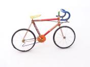 Racing bicycle bike handmade recycled tin cans Fair Trade