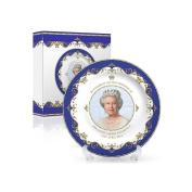 Queen Elizabeth II 90th Anniversary Commemorative Bone China Plate 10cm