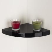 Core Products Hudson Corner Box Shelf Kit, Black