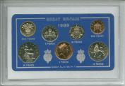 1989 GB Great Britain British Coin Birth Year Retro Gift Set