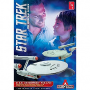 "AMT 1:65/1:10 Scale ""Star Trek USS Enterprise Build2gether"" Model Kit"