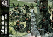 Waterloo 1/72 Italian Infantry Support Group WWII # 034