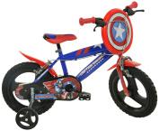Dino Bikes 414U-CA 36cm Captain America Bicycle